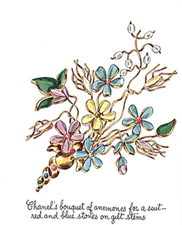 Chanel Bouquet Brooch