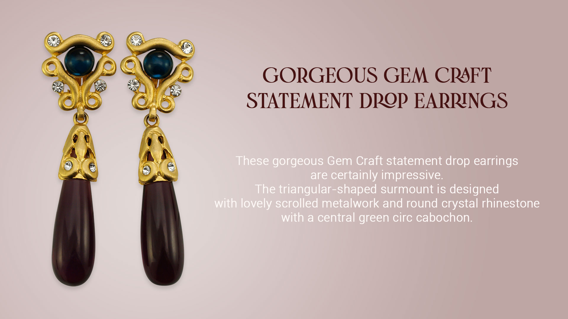 Gem-Craft-Statement-Drop-Earrings